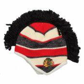 Mössa Chicago Blackhawks Faceoff Mohawk Knit - Reebok - Svart Tofs