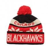 Reebok - Chicago Blackhawks Faceoff Cuffed Pom