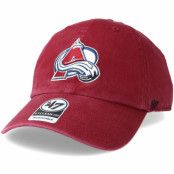 Keps Colorado Avalanche Clean up Cardinal Adjustable - 47 Brand - Röd Reglerbar