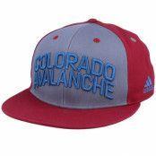 Keps Colorado Avalanche Flat Brim Grey/Burgundy Snapback - Adidas - Grå Snapback
