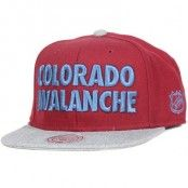Keps Colorado Avalanche Forces Snapback - Mitchell & Ness - Röd Snapback