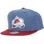 Mitchell & Ness - Denim Harry Colorado Avalanche Blue Snapback