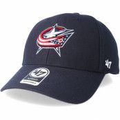 Keps Columbus Blue Jackets Mvp Navy Adjustable - 47 Brand