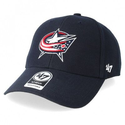 Keps Columbus Blue Jackets MVP Wool Navy Adjustable - 47 Brand - Blå Reglerbar
