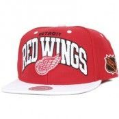 Keps Detroit Red Wings Team Arch - Mitchell & Ness