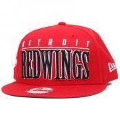 Kepsar Detroit Red Wings Big Word 9Fifty Snapback - New Era