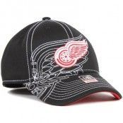 Reebok - Detroit Red Wings Draft Spin Flexfit Black (S/M)