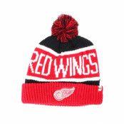 Mössa Detroit Red Wings Breakaway Knit Black Pom - 47 Brand - Svart Tofs