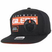 Keps Edmonton Oilers Cool N Dry Snapback - Reebok - Svart Snapback
