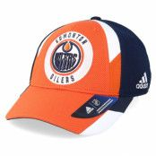 Keps Edmonton Oilers Echo Orange/Navy Flexfit - Adidas - Orange Flexfit