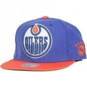 Mitchell & Ness - Edmonton Oilers XL Logo 2 Tone Snapback