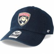 Keps Florida Panthers Clean up Navy Adjustable - 47 Brand - Blå Reglerbar