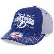 Keps Kids Tampa Bay Lightning Fan Faceoff Blue/Grey Adjustable - Outerstuff - Blå Barnkeps