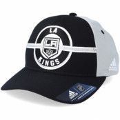 Keps Los Angeles Kings Strucured Black/Grey Adjustable - Adidas