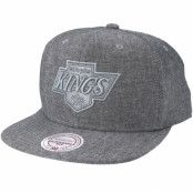 Keps Los Angeles Kings Italian Washed Grey Snapback - Mitchell & Ness