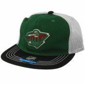 Keps Kids Minnesota Wild Green/Black Trucker - Outerstuff - Grön Barnkeps