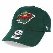 Keps Minnesota Wild Mvp Green Adjustable - 47 Brand - Grön Reglerbar