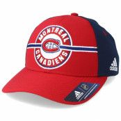 Keps Montreal Canadiens Strucured Red/Navy Adjustable - Adidas - Röd Reglerbar
