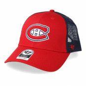 Keps Montreal Canadiens Branson 47 Mvp Mesh Red/Navy Trucker - 47 Brand - Röd Trucker