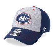 Keps Montreal Canadiens Formation 47 Mvp Grey/Navy/Red Adjustable - 47 Brand - Blå Reglerbar