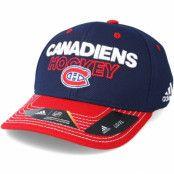 Keps Montreal Canadiens Locker Room Structured Navy Flexfit - Adidas