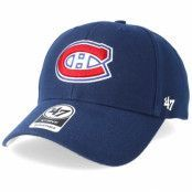 Keps Montreal Canadiens MVP Light Navy Adjustable - 47 Brand - Blå Reglerbar