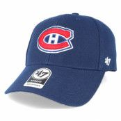 Keps Montreal Canadiens Mvp Navy Adjustable - 47 Brand - Blå Reglerbar