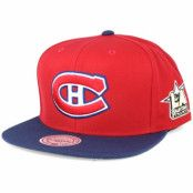 Keps Montreal Canadiens NHL 2017 ASG 2T Snapback - Mitchell & Ness - Röd Snapback