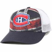 Keps Montreal Canadiens Print Structured Adjustable - Reebok - Blå Reglerbar