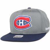 Keps Montreal Canadiens Ripstop Snapback - Reebok - Grå Snapback