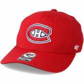 Keps Montreal Canadiens Contender Red Flexfit - 47 Brand - Röd Flexfit