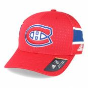 Keps Montreal Canadiens Draft Structured Red Flexfit - Adidas