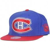 Mitchell & Ness - Montreal Canadiens XL Logo 2 Tone Snapback