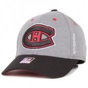 Reebok - Montreal Canadiens Structured Flexfit Grey/Black (S/M)