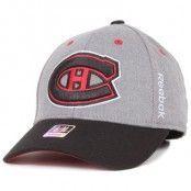 Reebok - Montreal Canadiens Structured Flexfit Grey/Black (S/M)