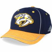 Keps Nashville Predators Alpha Navy/Yellow Flexfit - Adidas