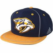Keps Nashville Predators Bravo Navy/Yellow Snapback - Adidas