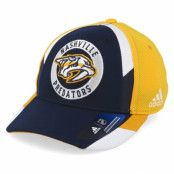 Keps Nashville Predators Echo Navy/Yellow Flexfit - Adidas