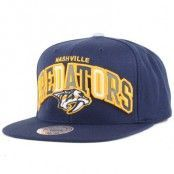 Mitchell & Ness - Nashville Predators Reflective Tri Pop Snapback