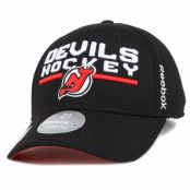 Kepsar New Jersey Devils Locker Room 3 Flexfit - Reebok