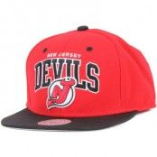 Mitchell & Ness - New Jersey Devils Team Arch Snapback