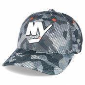 Keps New York Islanders Carbon Camo Slouch Flexfit - Mitchell & Ness