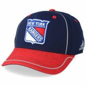 Keps New York Rangers Alpha Navy/Red Flexfit - Adidas - Blå Flexfit