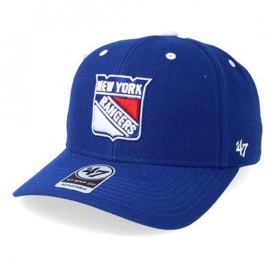 Keps New York Rangers Audible 47 Mvp Royal/White Adjustable - 47 Brand - Blå Reglerbar