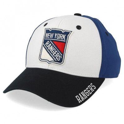 Keps New York Rangers Cotton 3 Colour White/Dark Blue/Black Adjustable - Adidas