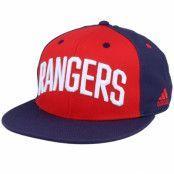 Keps New York Rangers Flat Brim Red/Navy Snapback - Adidas - Röd Snapback