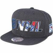 Keps New York Rangers Insider Reflective Grey Snapback - Mitchell & Ness - Grå Snapback