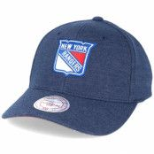 Keps New York Rangers Sweat Navy Adjustable - Mitchell & Ness - Blå Reglerbar