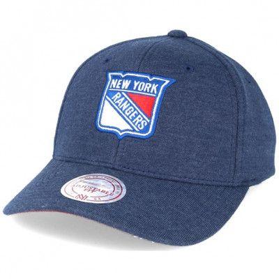 Keps New York Rangers Sweat Navy Adjustable - Mitchell & Ness - Blå Reglerbar