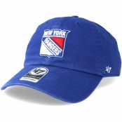 Keps New York Rangers Clean up Royal Adjustable - 47 Brand - Blå Reglerbar